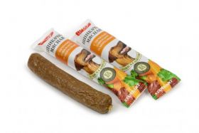 Лакомство д/собак Колбаска (шпикачка) с печенью и морковью 50г