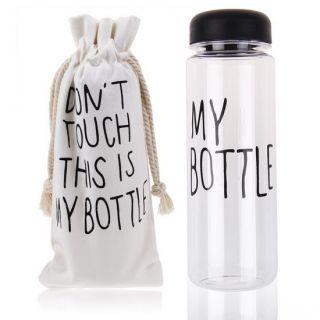 Бутылка для воды My Bottle (Май Батл), Цвет: Черный