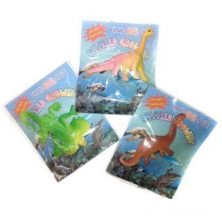 Фигурки, растущие в воде Динозавры