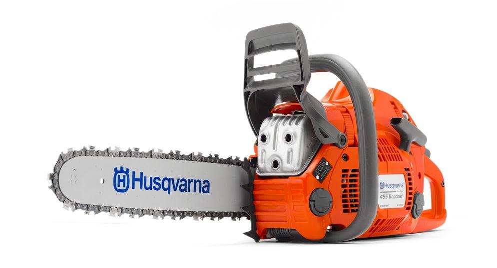 Цепная бензиновая пила Husqvarna 455e
