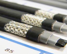 Готовый комплект кабеля NUNICHO снаружи трубы 30 Вт/м - 3 метра.+ (холодный ввод  с вилкой- 2 метра).