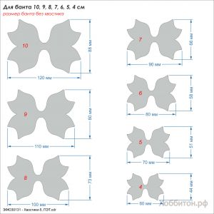 `Шаблон ''Хвостики-5'' , ПЭТ 0,7 мм