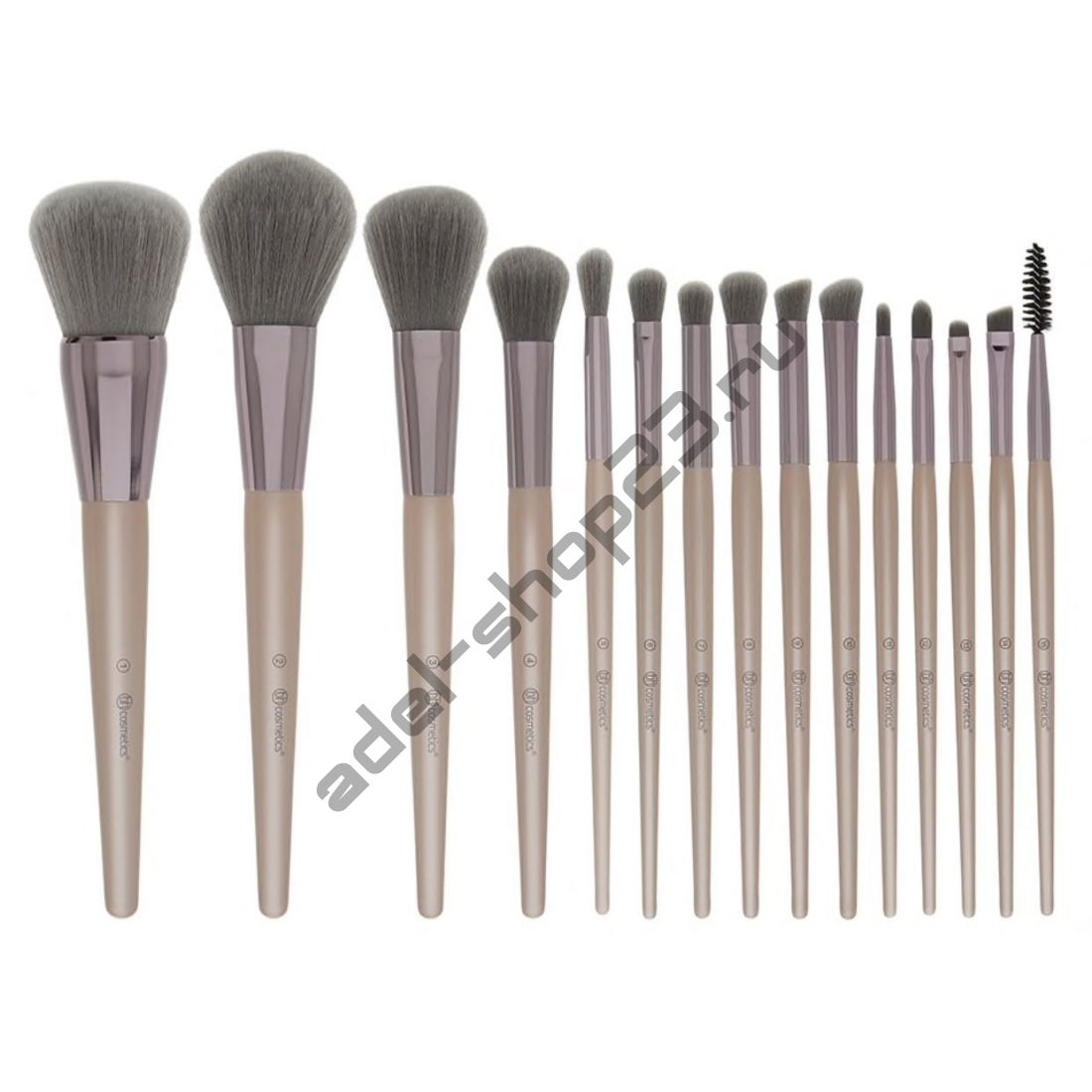 BH Cosmetics - набор из 15 кистей Lavish Elegance