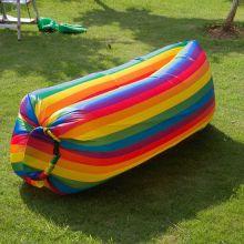 Надувной матрас гамак Lamzac (Ламзак), цвет Радужный