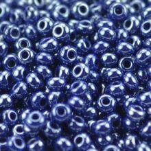 Бисер чешский 33061 темно-синий непрозрачный блестящий Preciosa 1 сорт