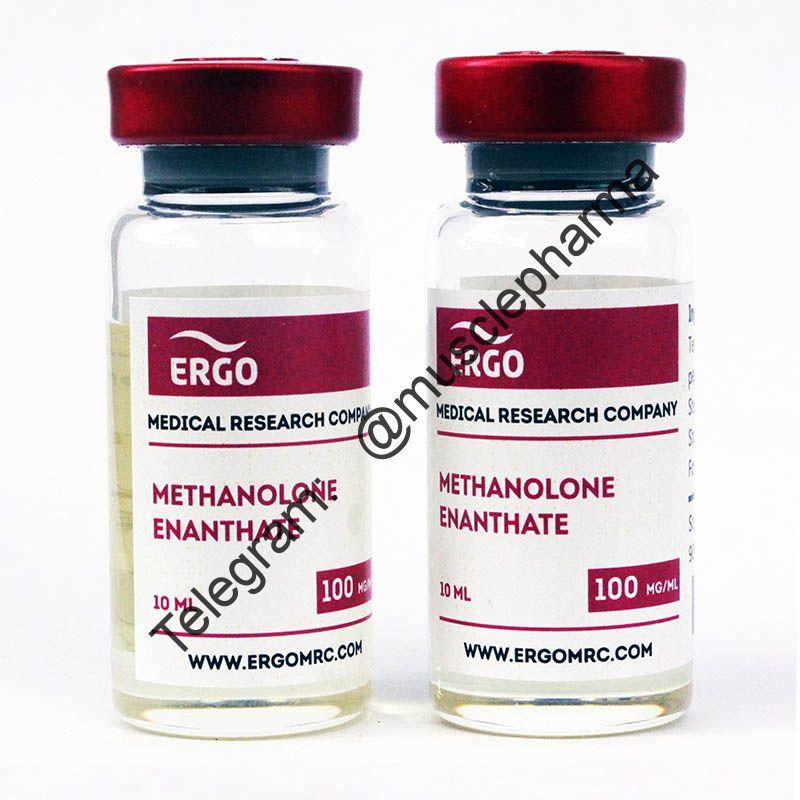 METHANOLONE ENANTHATE (ERGO). 1 флакон * 10 мл. (100 мг / мл)