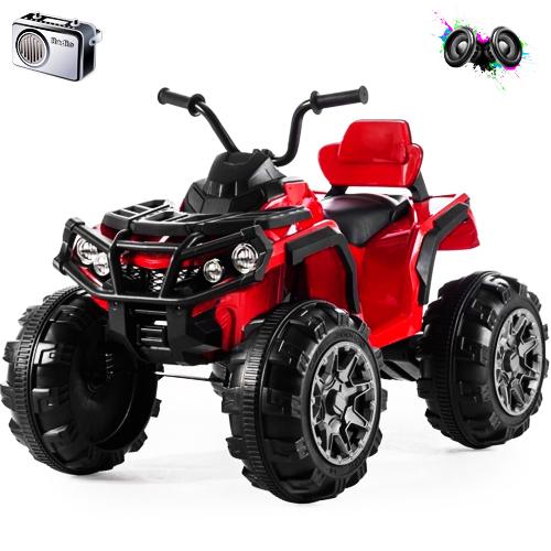 Электроквадроцикл Grizzly ATV Red