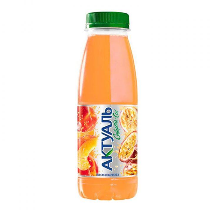 Напиток Актуаль на сыворотке персик/маракуйя 310г Юнимилк