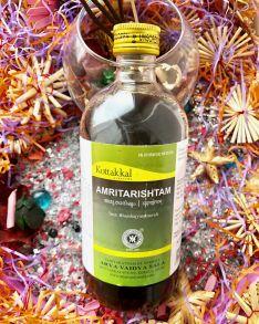 """Амритариштам, 450 мл,  Amritarishtam, 450 ml, """"нектар бессмертия"""""""