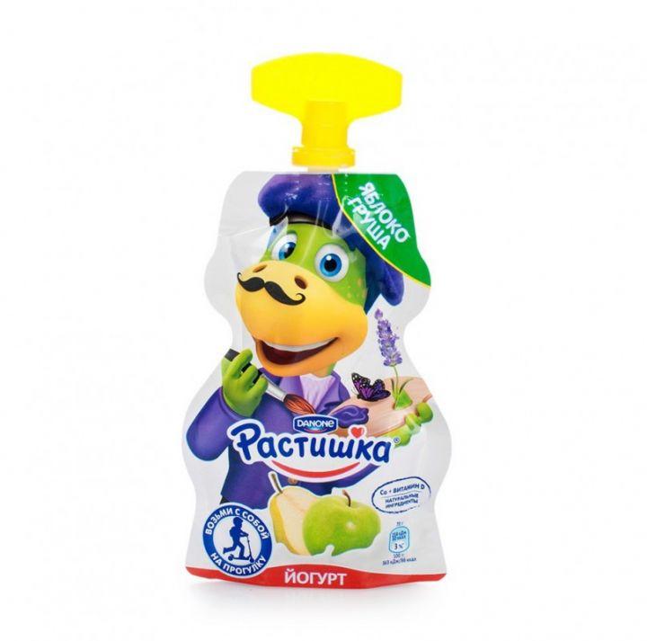 Йогурт Растишка питьевой 2,6% яблоко/груша 70г Данон Индустрия