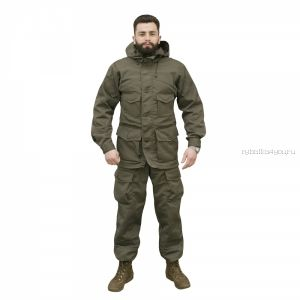 Костюм Сталкер Горный куртка/брюки, ткань смесовая с хлопком R/S /хаки(Артикул: OPR005-01)
