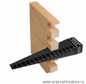 Шаблон конусный Veritas Tapered Gauge  для измерения ширины зазоров и шпунтов 05N38.03 М00003567