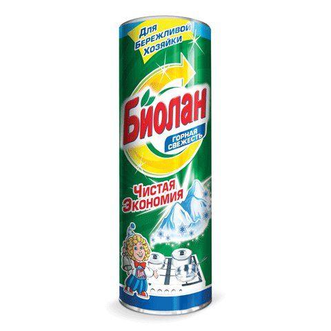 Чист.средство Биолан 400г Горная свежесть фн