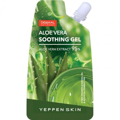 Dermal Yeppen Skin Aloe Vera Soothing Gel Экстраувлажняющий и смягчающий гель с 95% алое вера 20 гр