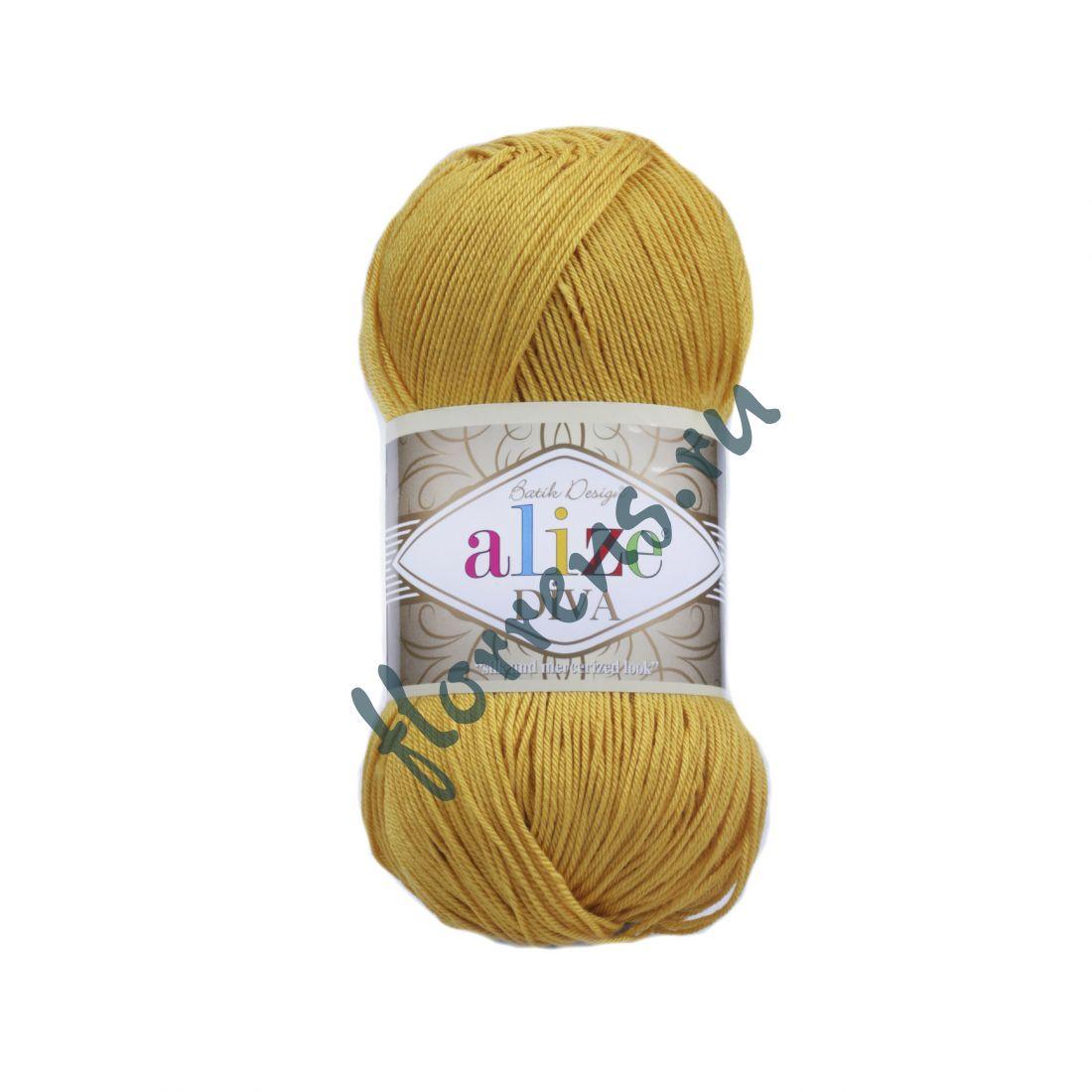 Пряжа Alize Diva / 488 золото