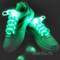 Светящиеся шнурки, Цвет Зелёный