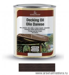 Масло датское Borma Decking Oil 1л для террас Полисандр 4971-IL-582