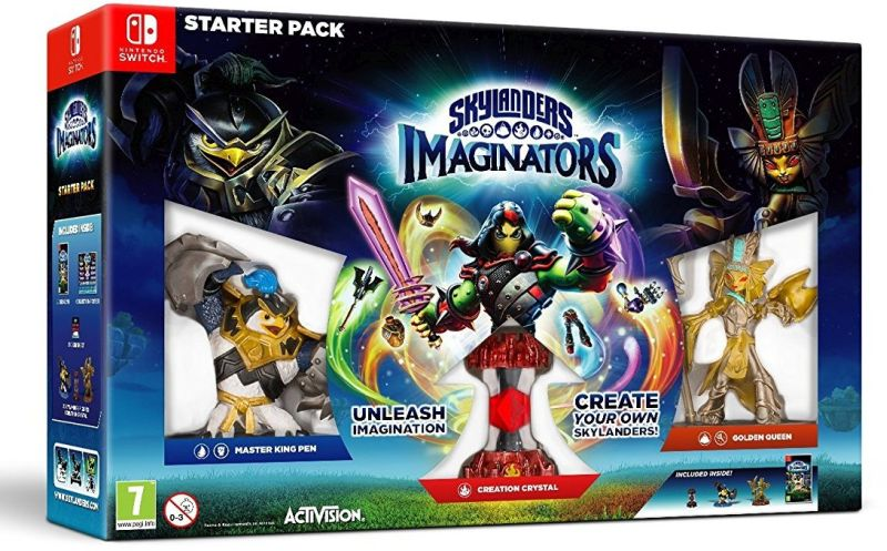 Игра Skylanders Imaginators Стартовый набор (Nintendo Switch)