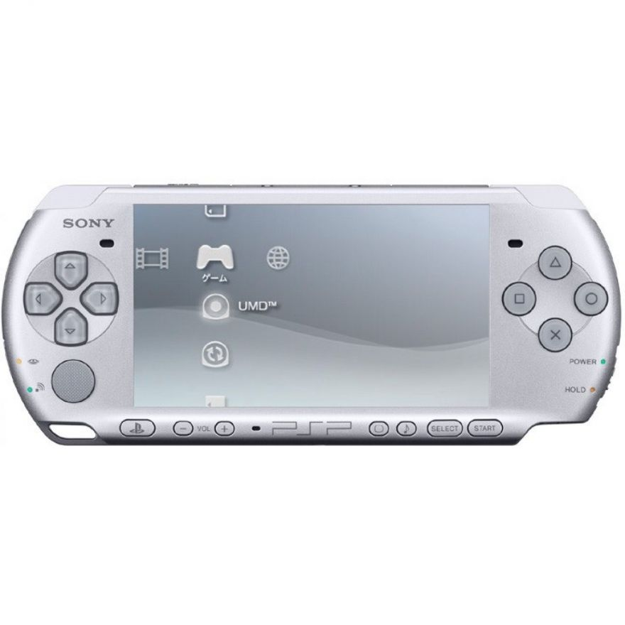 Игровая приставка Sony PSP Slim 3000 Silver