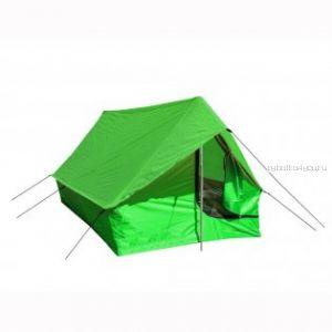 Палатка Prival  «ТУРИСТ 3» однослойная (3х местная двускатная. PU тента 3000 в.ст; PU дна 5000 мм в. Ст)