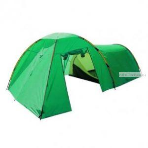 Палатка Prival  КВАРТЕТ-4 (4-х местная двухслойная полусфера с высоким тамбуром. PU тента 3000 в.ст; PU дна 5000 мм в. Ст)
