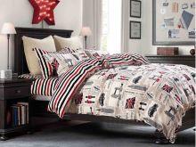 Комплект постельного белья Сатин SL 2-спальный  Арт.20/356-SL