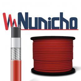 Пищевой саморегулирующийся нагревательный кабель (Внутрь трубы) на отрез NUNICHO Micro 10-2 CR  (с экраном), 10 Вт/м. Пр-во Южная Корея.