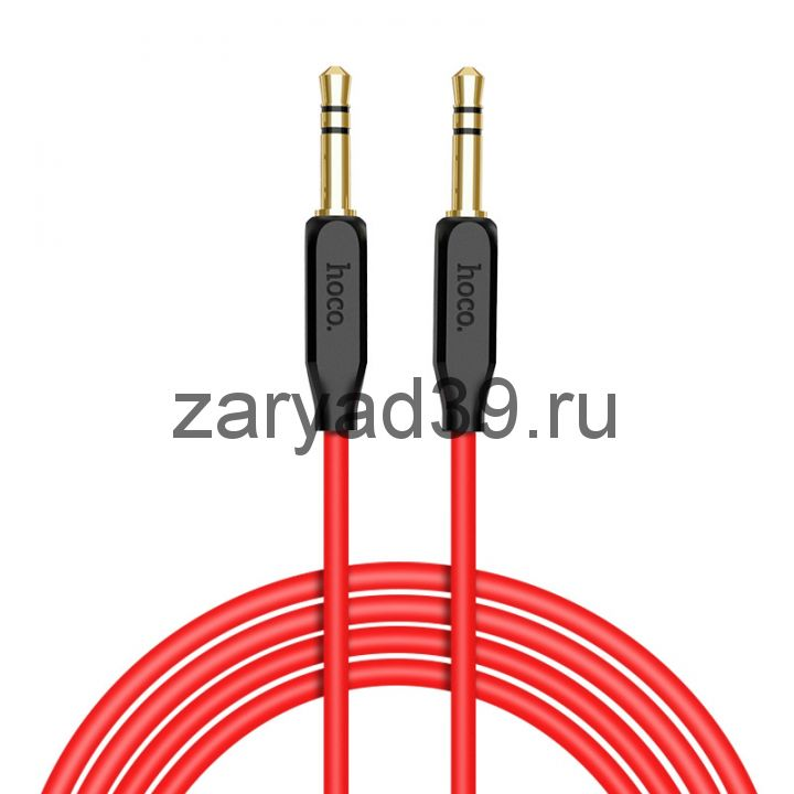 Кабель Audio AUX Hoco TPE braid