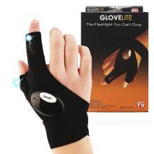 Перчатка со встроенным фонариком Glove Lite