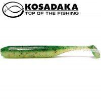 Мягкие приманки Kosadaka Kolbaso 100 мм / упаковка 4 шт / цвет: FTS