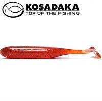 Мягкие приманки Kosadaka Kolbaso 100 мм / упаковка 4 шт / цвет: MOS