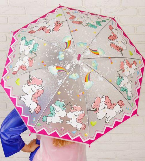 Зонт детский «Единороги», d=87 см