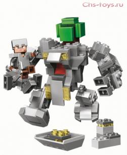 Конструктор Lari Мой Мир Робот Титан 11135  221 дет