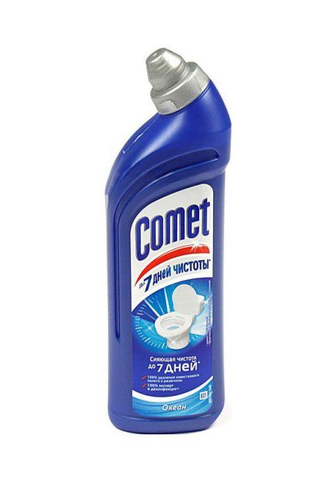 Чист.средство Комет 750мл д/туалета Океан
