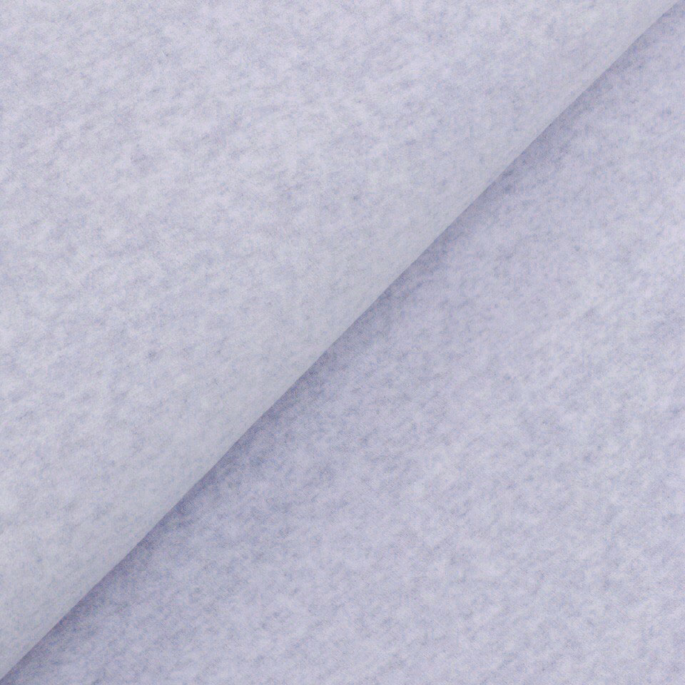 Велюр (плюш) хлопок - серо-голубой 50х50