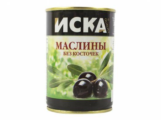 Маслины Olivissimo черные б/к 300мл. ж/б