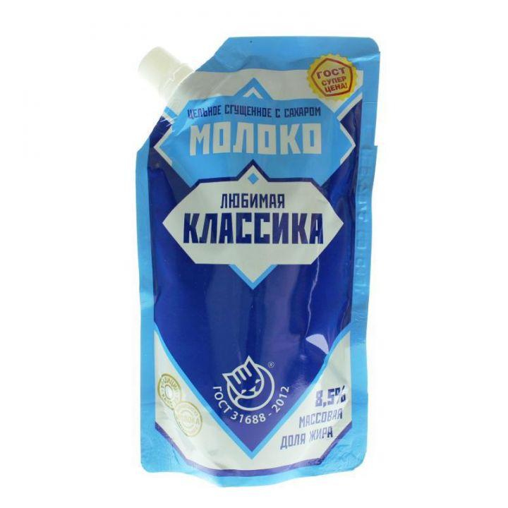 Консервы молокосодержащие сгущенные с сахаром 8.5% ГОСТ д/п 270г Назарово