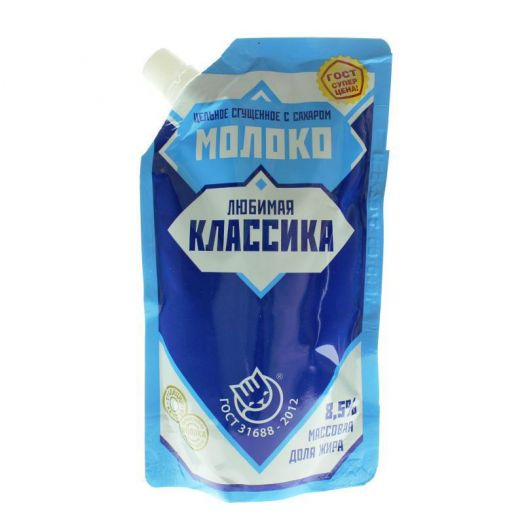 Продукт мол-сод с ЗМЖ сгущ с сах 8.5% 270г д/п ТУ Назарово