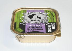 Консервированный полнорационный корм для кошек (кусочки в желе)