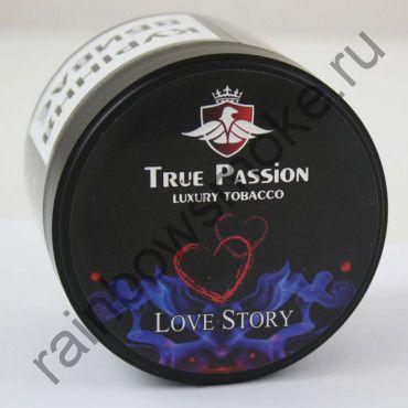 True Passion 50 гр - Love Story (Маракуйя Арбуз Медовая Дыня Клубника и Ментол)