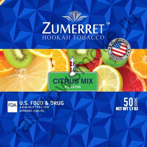 Zumerret Blue Edition 50 гр - Citrus Mix (Цитрусовый Микс)