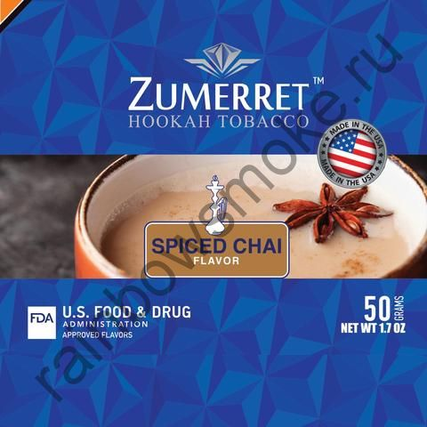 Zumerret Blue Edition 50 гр - Spiced Chai (Пряный Чай)