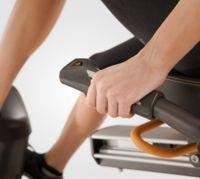 Мониторинг пульса и управление нагрузкой, не вставая с сиденья и не прерывая тренировку