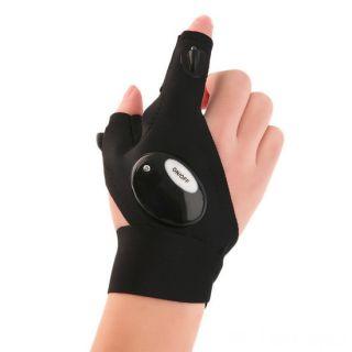 Перчатка со встроенным фонариком Glovelite