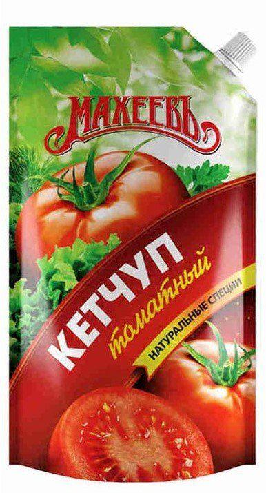 Кетчуп МАХЕЕВЪ томатный д/п 300г