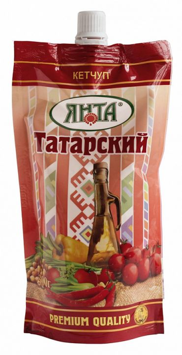 Кетчуп Янта Татарский дой-пак с доз. 300г