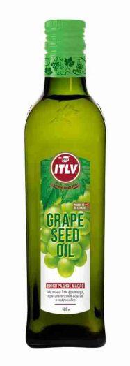 Масло ITLV из виноградных косточек ст/б 0,5л