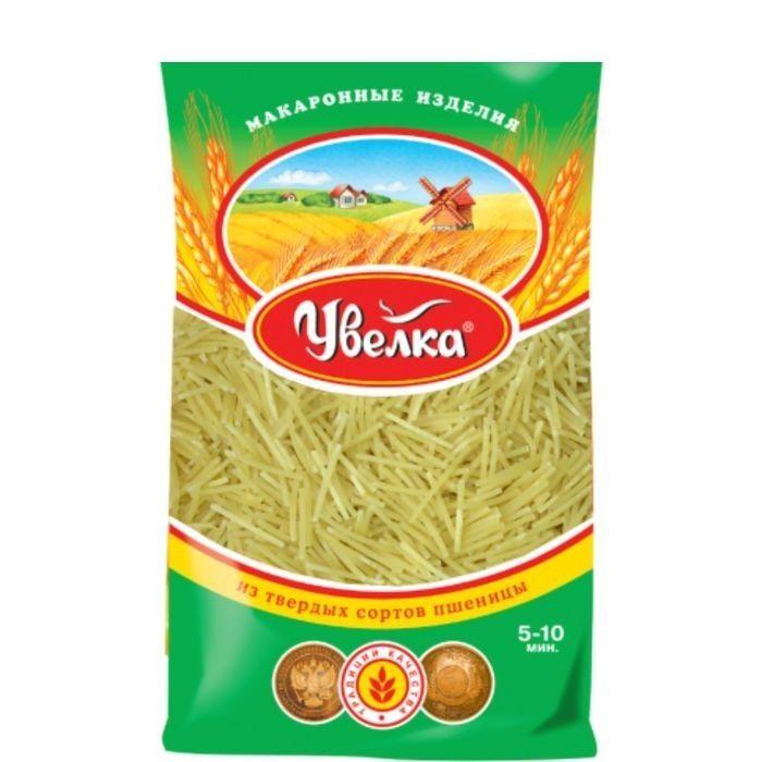Мак.изделия Увелка Вермишель паутинка 450г