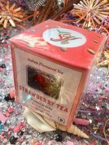 Чай SK Indian STRAWBERRY TEA  Чай Индия 100 гр
