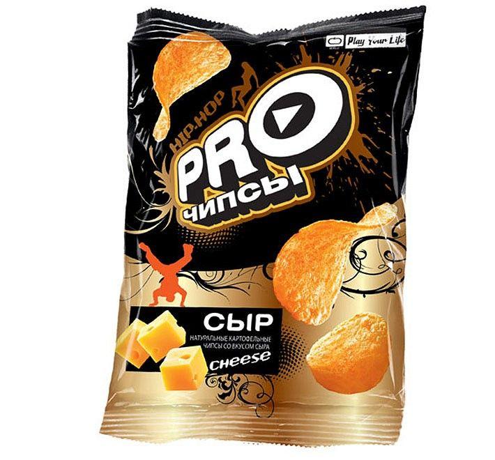 Чипсы PRO-чипсы со вкусом сыра 150г